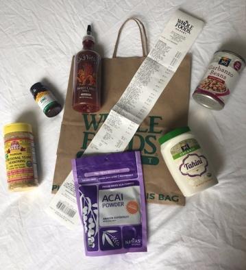vegan essentials at whole food 1