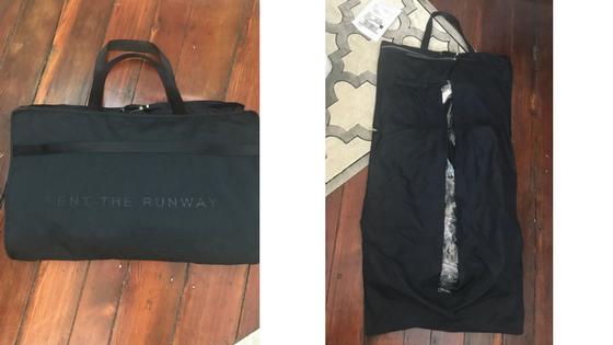 rent the runway bag review